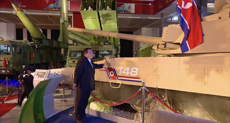 Power for peace: Kim Jong Un frames missiles as deterrent against 'war itself'