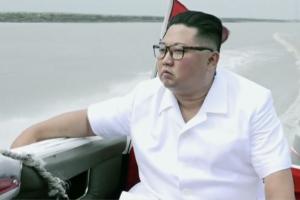 Kim Jong Un keeps up reclusive streak as boats cruise around east coast mansion