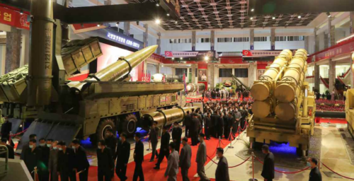 North Korean elites from across the country get first close-up views of ICBMs