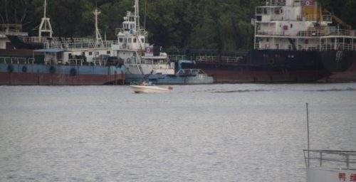 Why has a North Korean ship been in Mexico for nine months?