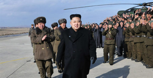 Military matters and holiday events top Kim's agenda in January