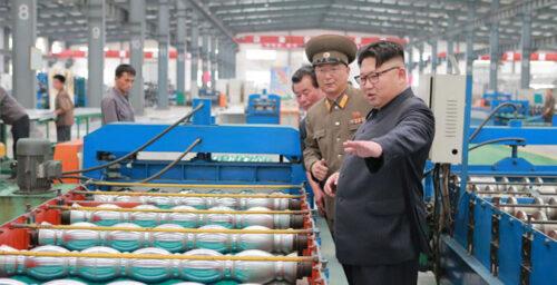 July leadership activity in N.Korea balanced between economic, military issues