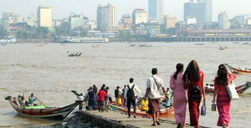 UN sanctioned ship appears near Myanmar