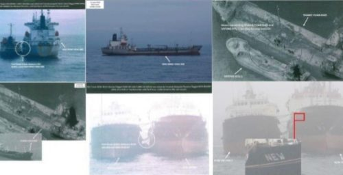 UN-sanctioned oil tanker with ties to North Korea appears near Chinese coast