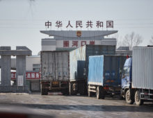 China-North Korea trade rises for the first time in months