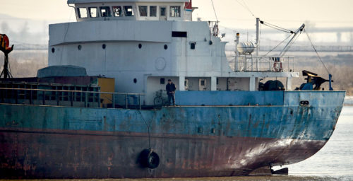 North Korean ship named in sanctions report sinks near Japan's west coast