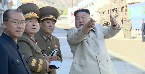 'Utopian' North Korean mining town project underway after years of neglect