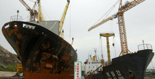 Identity theft: Sanctioned North Korean ship poses as clean tanker