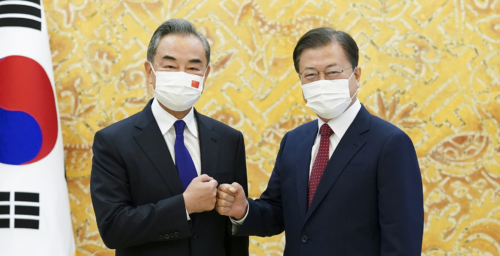 With foreign minister's visit, China seeks to coax Seoul away from US