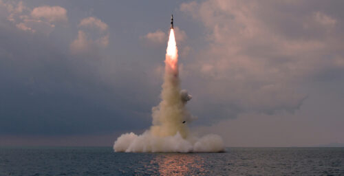 North Korea flexes with SLBM test, and bigger missiles may be coming